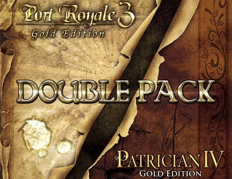 Port Royale 3 Gold and Patrician IV Gold - Double Pack (PC) фото