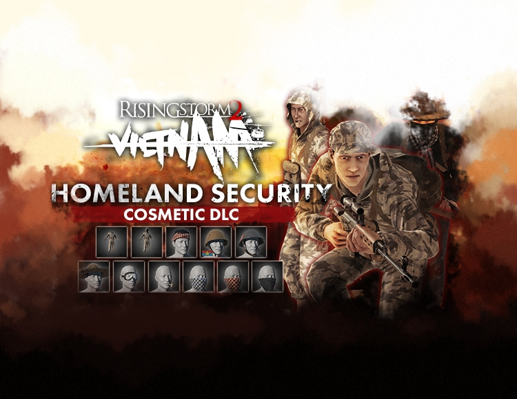 Rising Storm 2: Vietnam - Homeland Security Cosmetic DLC (PC) фото