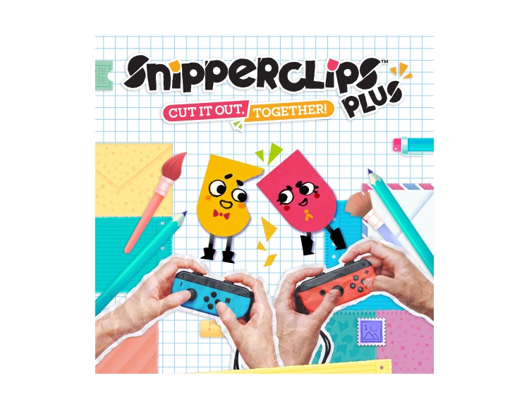 Snipperclips – Cut it out, together! PlusPack (Nintendo Switch - Цифровая версия) фото