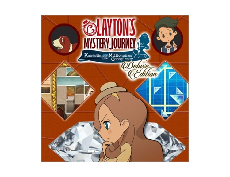 LAYTON'S MYSTERY JOURNEY™: Katrielle and the Millionaires' Conspiracy - Deluxe Edition (Nintendo Switch - цифровая версия) фото