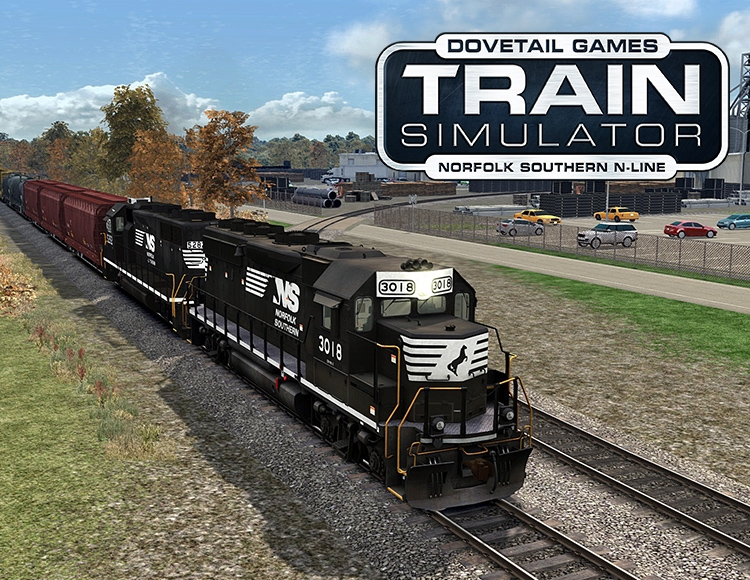 Train Simulator: Norfolk Southern N-Line Route Add-On (PC) фото