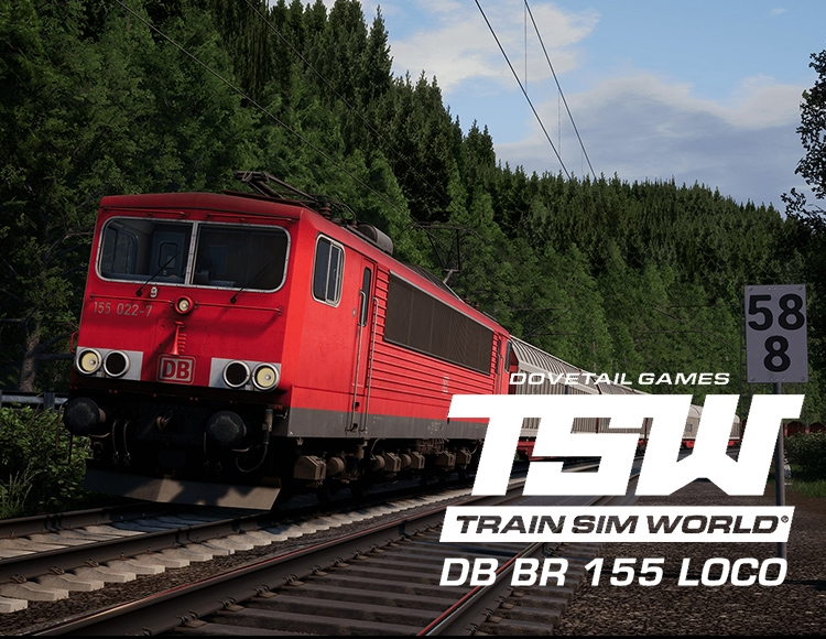 Train Sim World®: DB BR 155 Loco Add-On (PC) фото