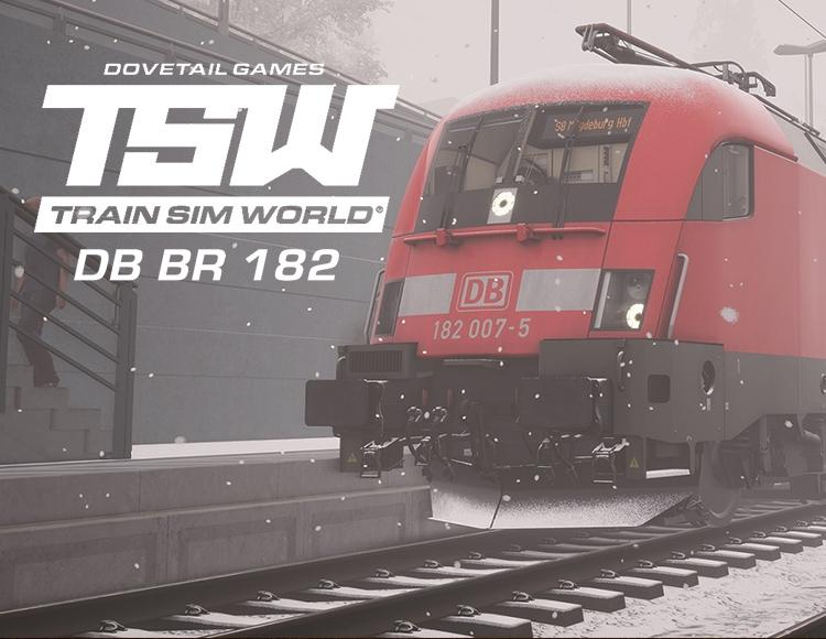 Train Sim World®: DB BR 182 Loco Add-On (PC) фото