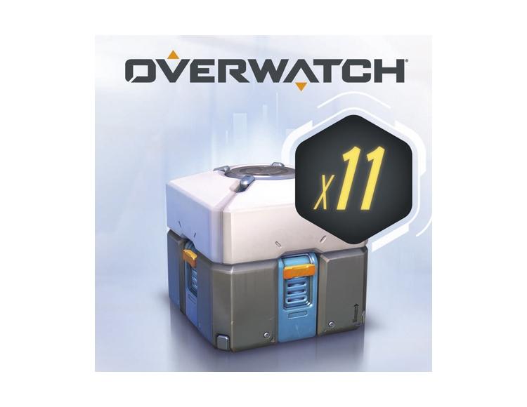 Overwatch®: 11 контейнеров (Nintendo Switch - Цифровая версия) фото
