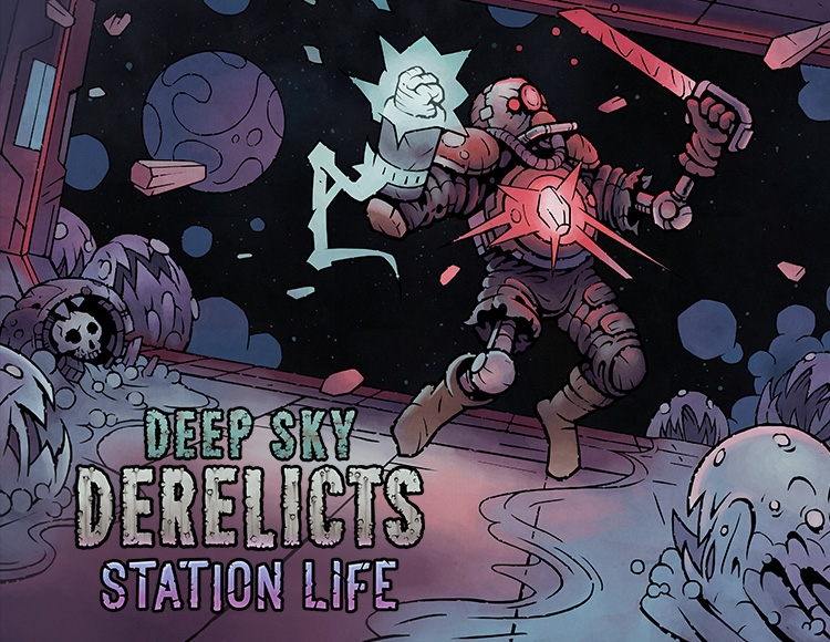 Deep Sky Derelicts: Station Life (PC) фото
