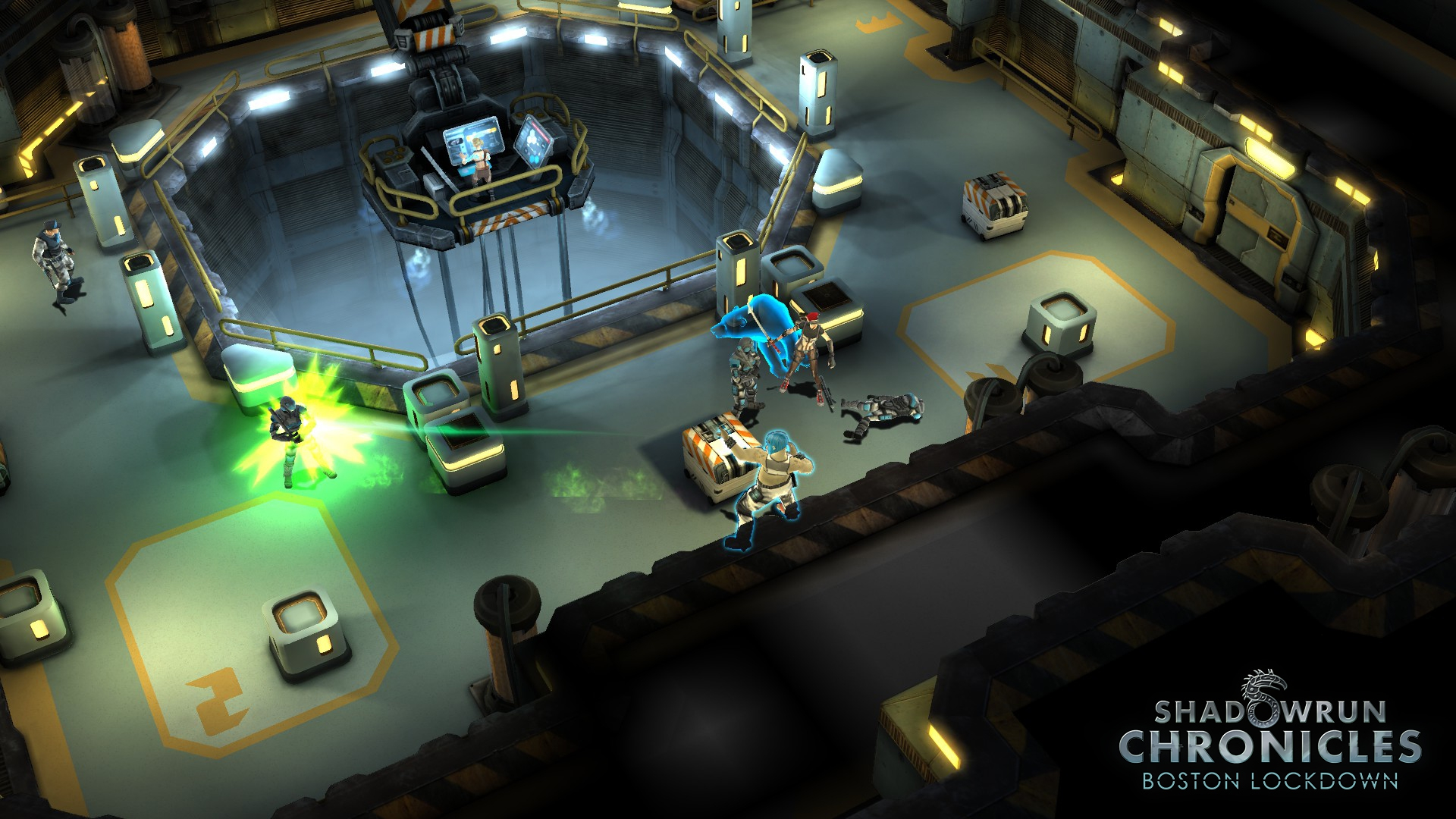 Скриншот - Shadowrun Chronicles - Boston Lockdown (PC)