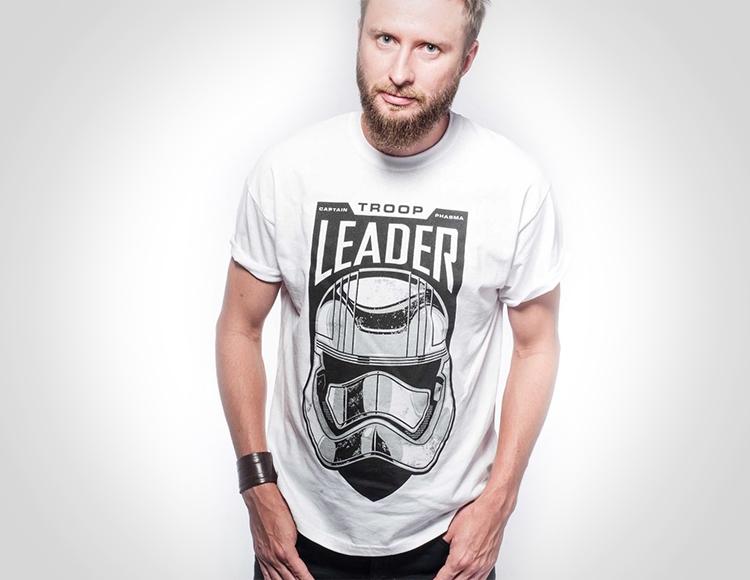 Мужская футболка Star Wars Troop Leader (Размер L) фото