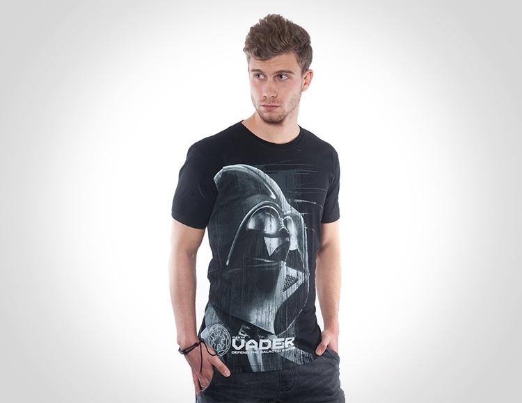 Мужская футболка Star Wars Vader DTG (Размер M) фото