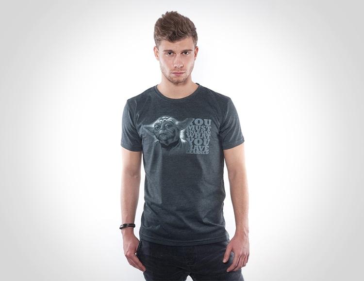 Мужская футболка Star Wars Yoda fan (Размер L) фото
