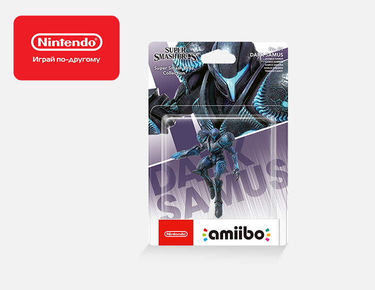 Фигурка amiibo Темная Самус (коллекция Super Smash Bros.) фото