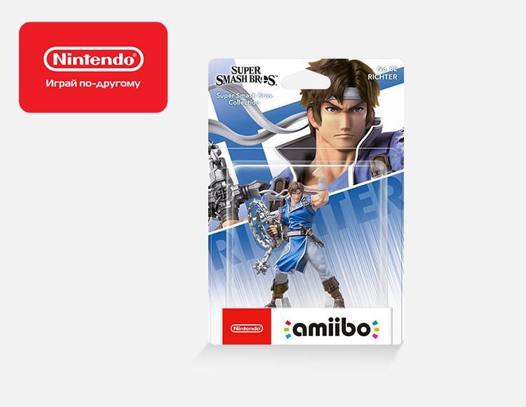 Фигурка amiibo Рихтер (коллекция Super Smash Bros.) фото
