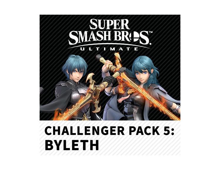 Набор бойца: Байлет - DLC for Super Smash Bros. Ultimate (Nintendo Switch - Цифровая версия) фото