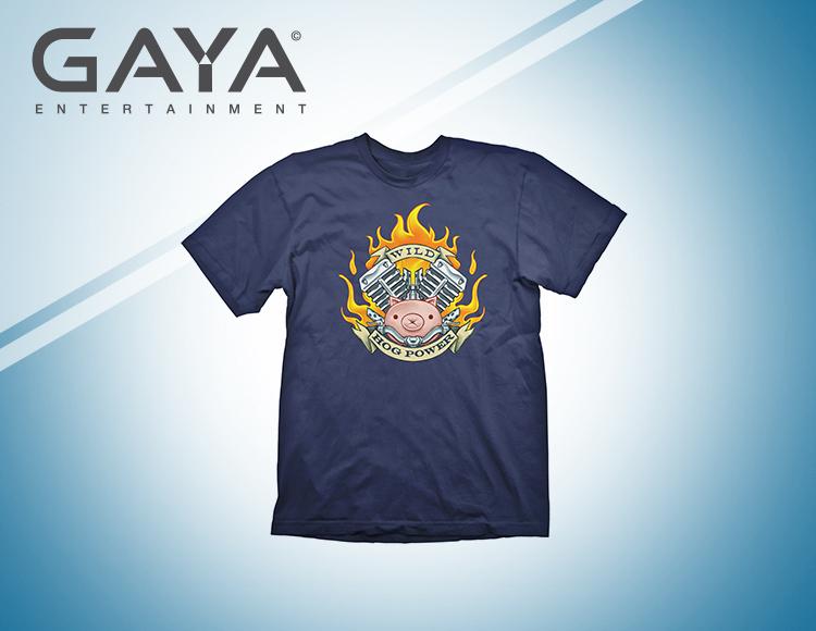 Мужская футболка Overwatch Roadhog (Размер XL) фото