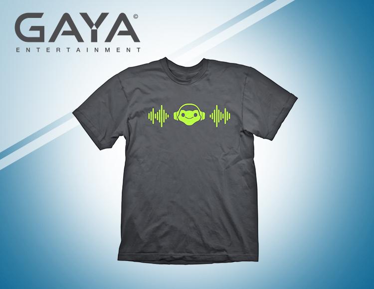 Мужская футболка Overwatch Lucio's Beat (Размер XL) фото