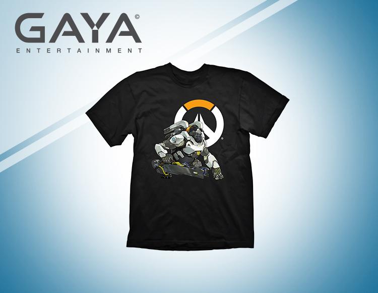 Мужская футболка Overwatch Winston Logo (Размер L) фото