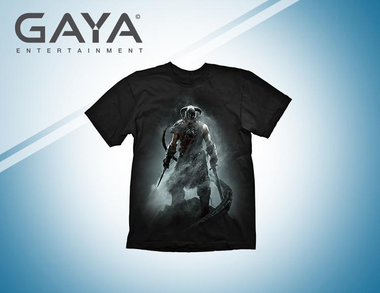 Мужская футболка Skyrim Dragonborn (Размер L) фото