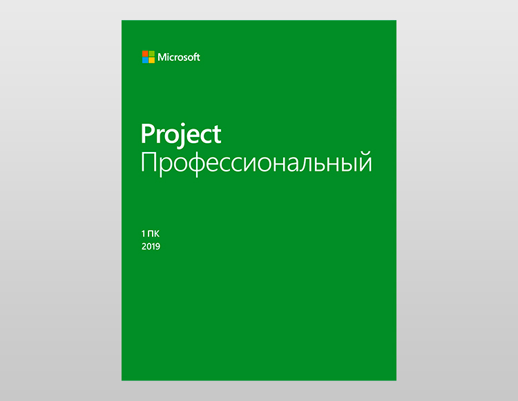 Microsoft Project Professional 2019. Мультиязычный [Цифровая версия]