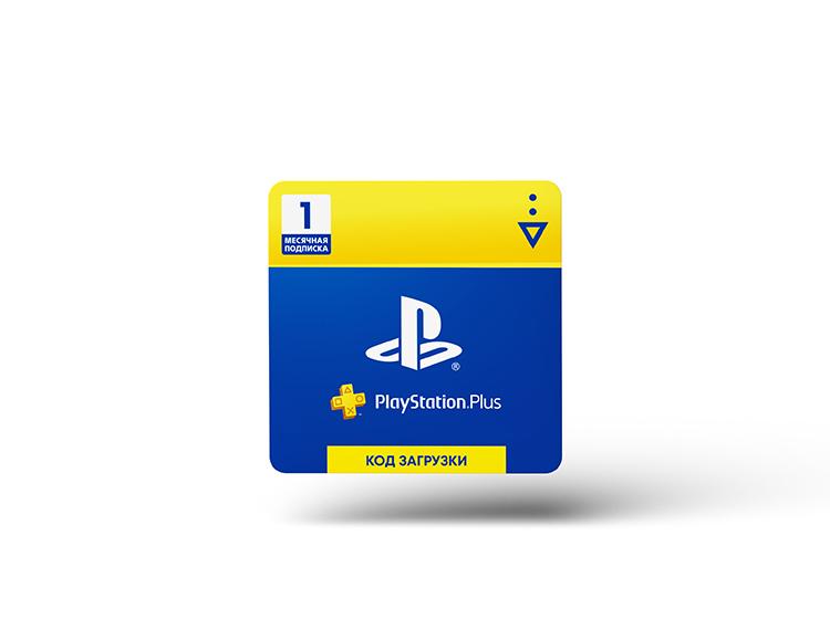 PlayStation Plus 1-месячная подписка: Карта оплаты [Карта цифрового кода]