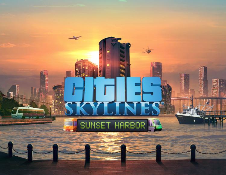 Cities Skylines: Sunset Harbor (PC) фото