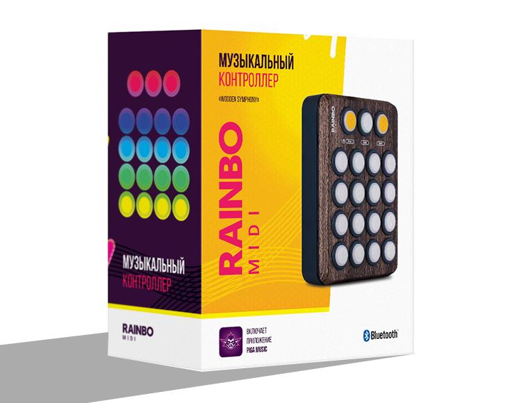 Музыкальный midi контроллер Rainbo (PIGA Music): Wooden Symphony фото