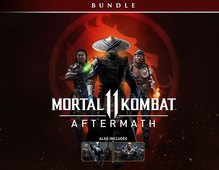 Mortal Kombat 11: Aftermath + Kombat Pack Bundle (Предзаказ)