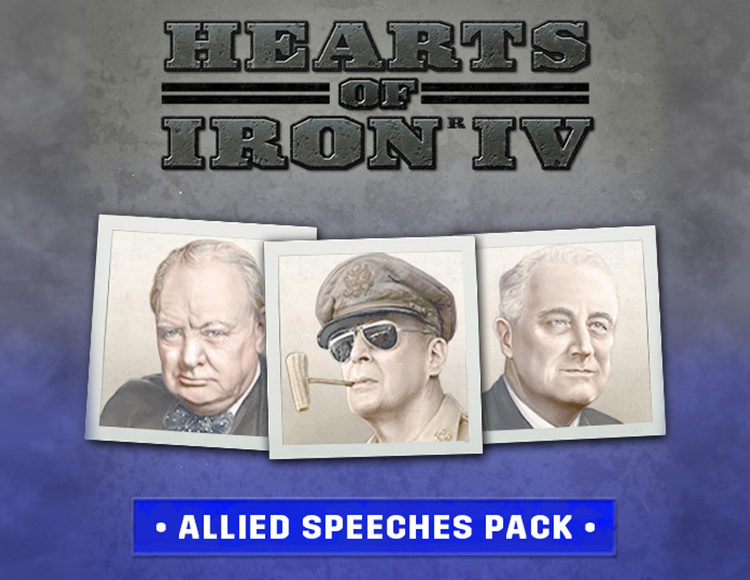 Hearts of Iron IV Allied Speeches Pack