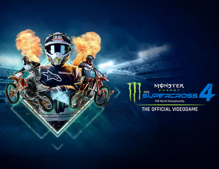 Monster Energy Supercross - The Official Videogame 4 (Предзаказ)
